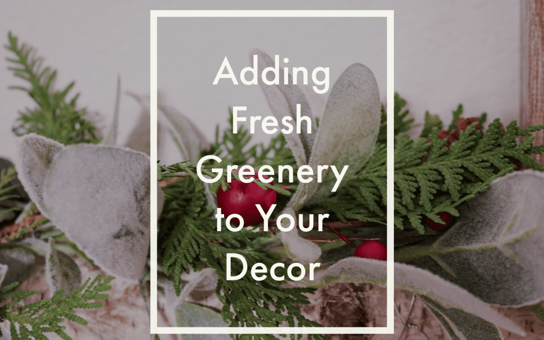 How to Add Fresh Greenery to Your Decor