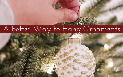 A Better Way to Hang Ornaments