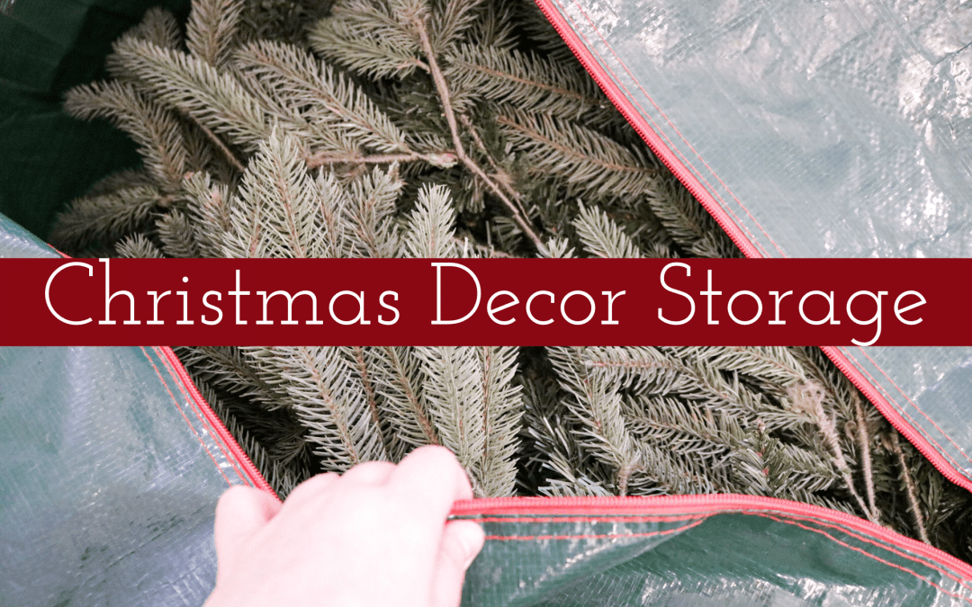 Christmas Decor Storage Picks